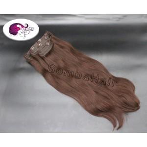 Clip-In - braun color:2 -...