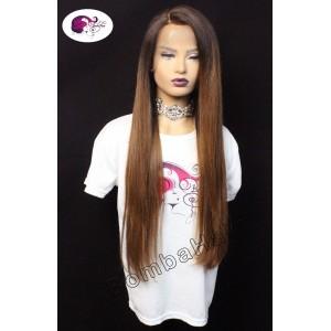Wig - balayage brown