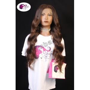 Wig - ombre - chocolat - 70 cm