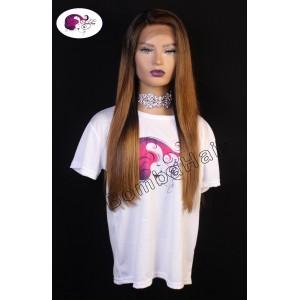 Wig - Ombre - brown - 50cm