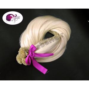 platinum blonde (color:60) - Keratin Bonds