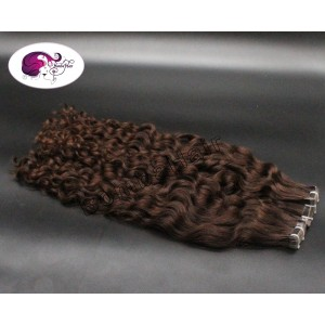 Tape-In Extensions - chocolate brown