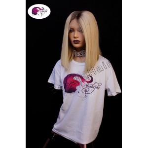 Wig - Bob blonde with dark...