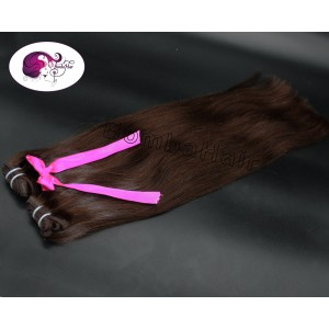 Dark  Brown color:1A - Wefts