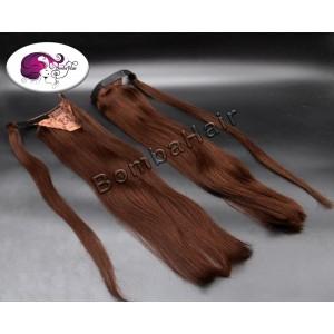 Ponytail - brown color:3