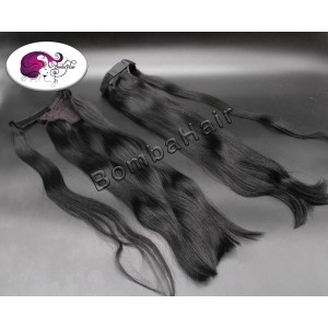 Ponytail - jet black color:1