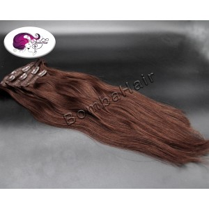 Clip-In - brown color:3