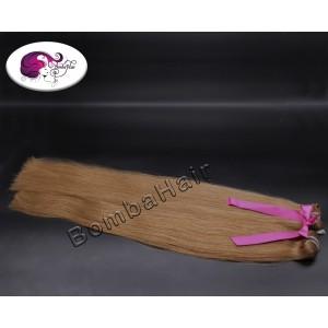 dunkles aschblond - Farbe: 6C - Haartressen