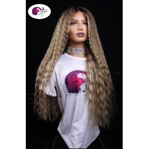 Wig - Shakira - 60cm - ash...