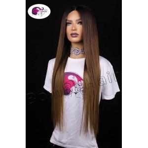 Wig - Closure Wig - Ombre...