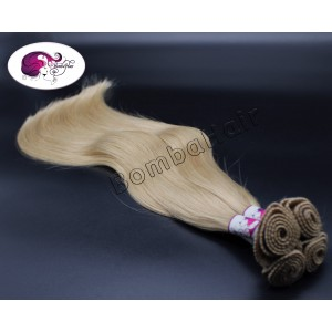 Hand Tied Wefts - aschblond...